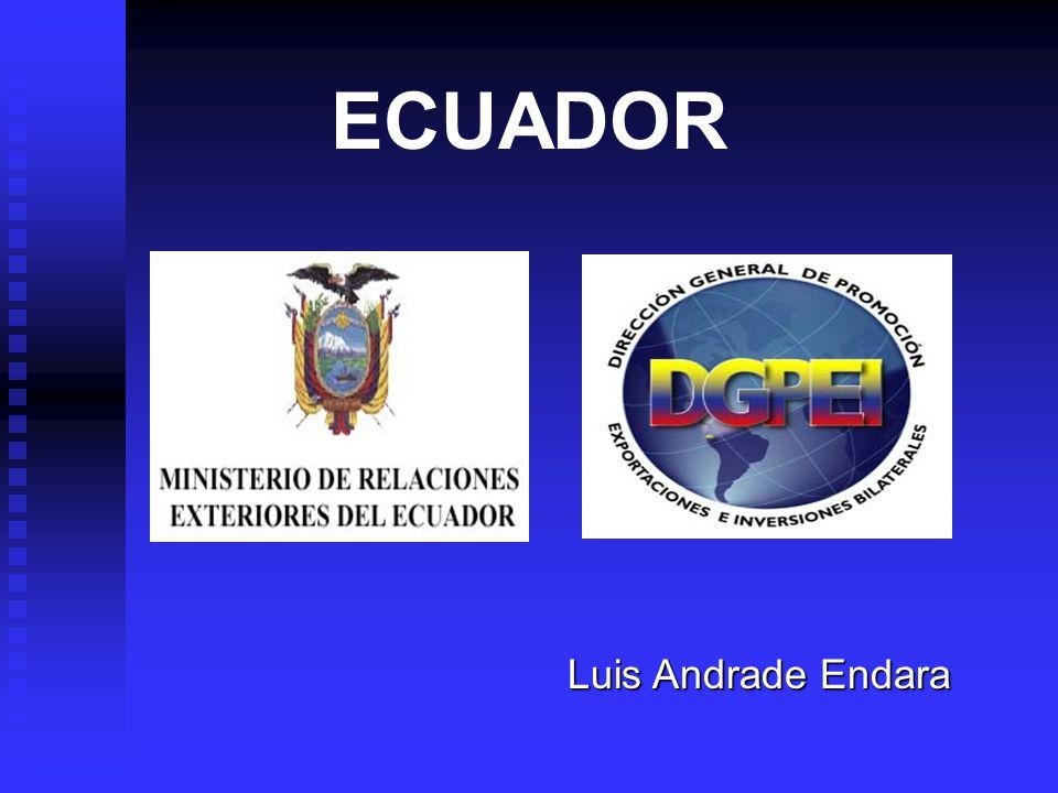 ECUADOR Luis Andrade Endara