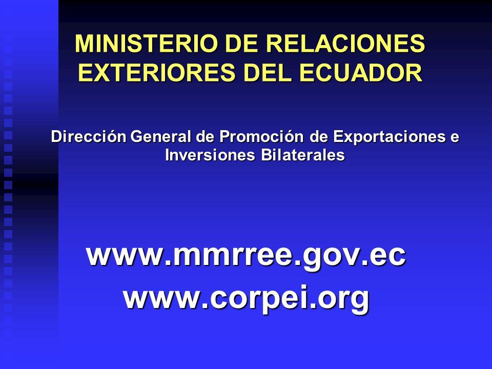 MINISTERIO DE RELACIONES EXTERIORES DEL ECUADOR