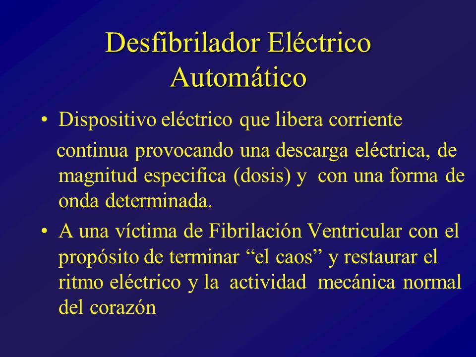 Desfibrilador Eléctrico Automático