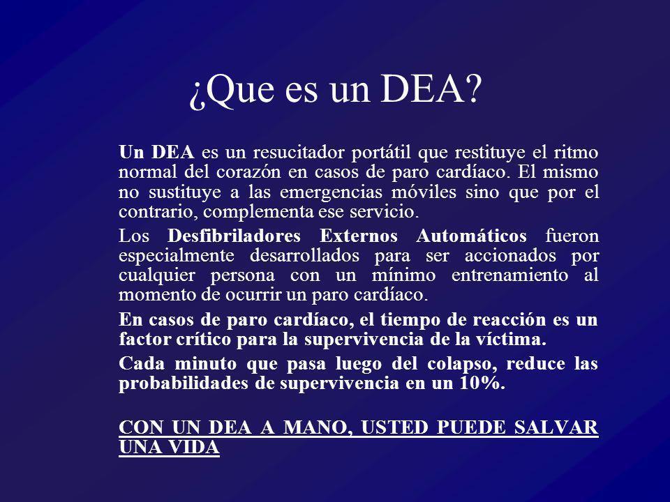 ¿Que es un DEA