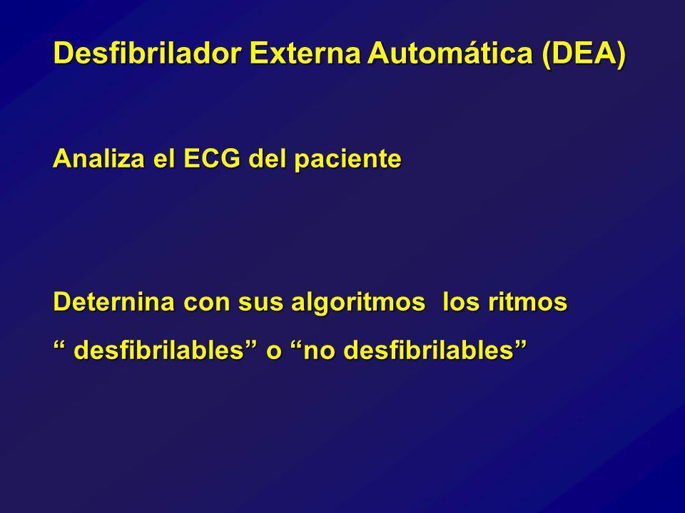 Desfibrilador Externa Automática (DEA)