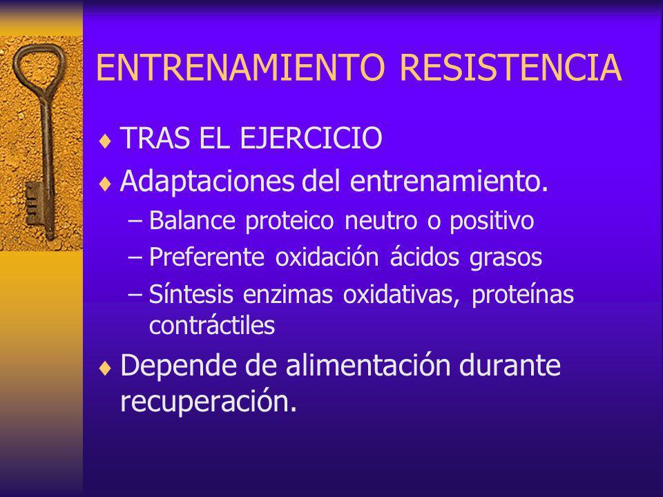ENTRENAMIENTO RESISTENCIA
