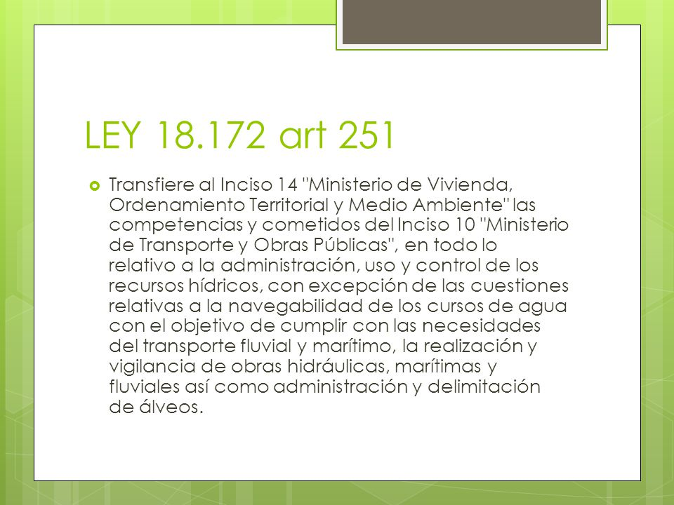 LEY 18.172 art 251