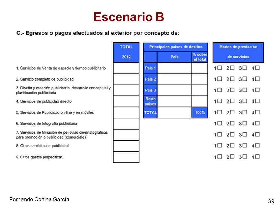 Escenario B