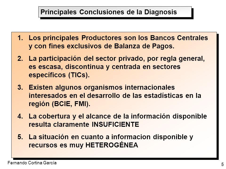 Principales Conclusiones de la Diagnosis