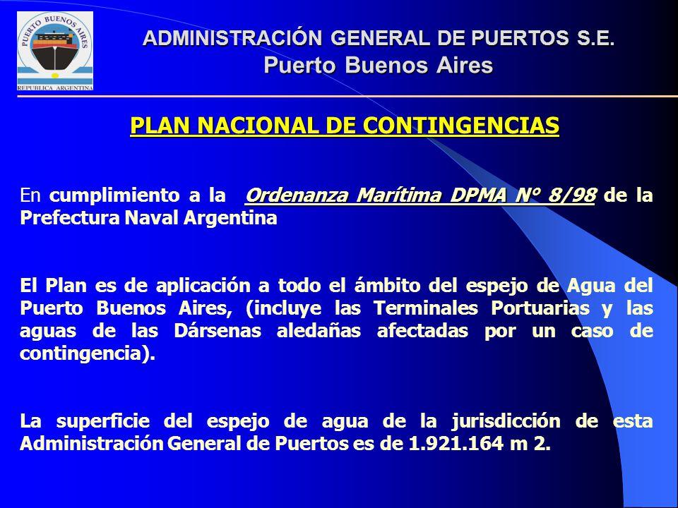 PLAN NACIONAL DE CONTINGENCIAS