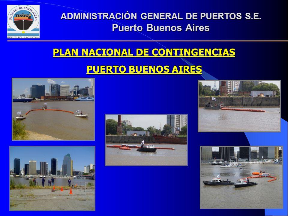 PLAN NACIONAL DE CONTINGENCIAS PUERTO BUENOS AIRES