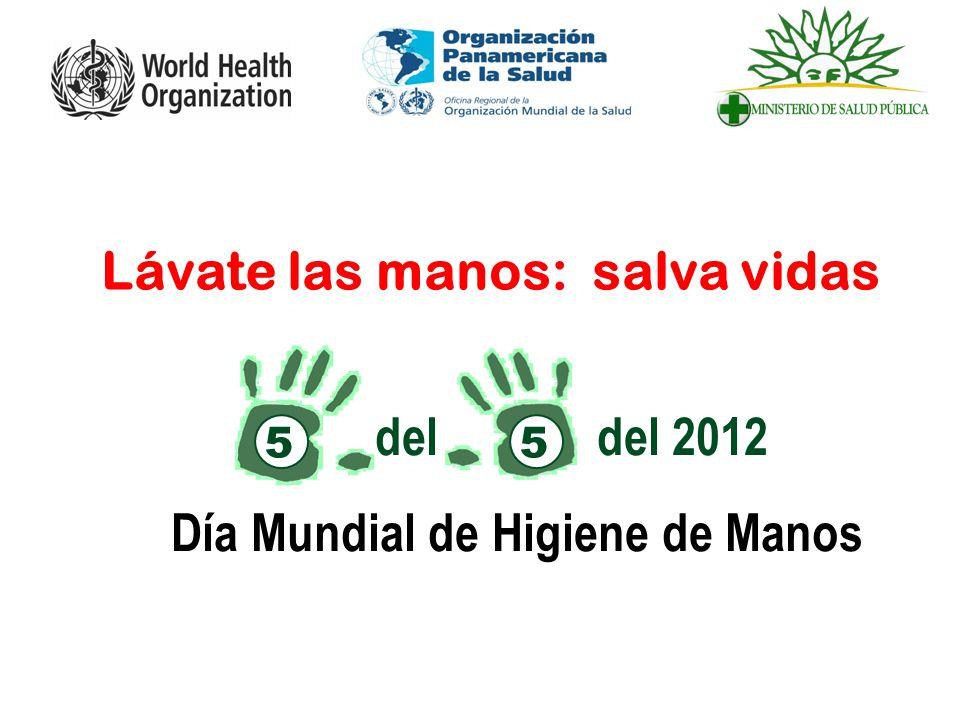 Lávate las manos: salva vidas