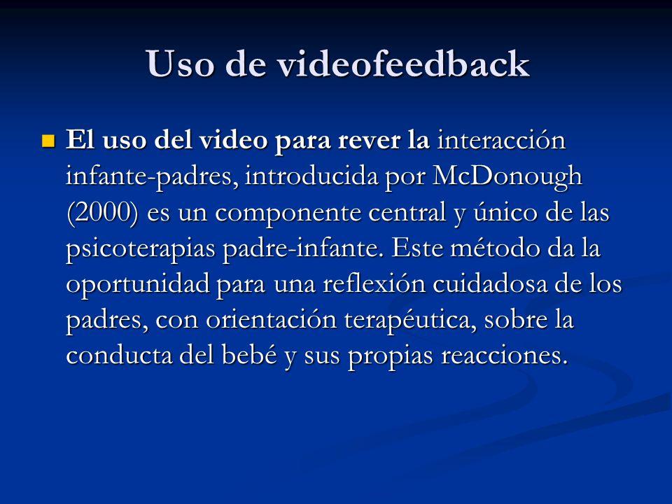 Uso de videofeedback