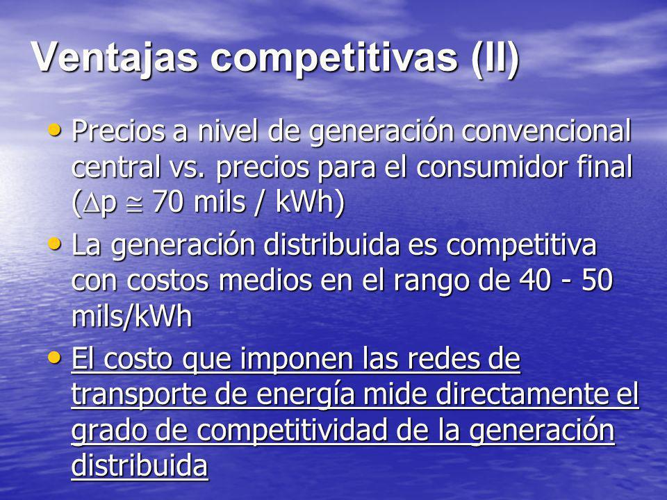 Ventajas competitivas (II)