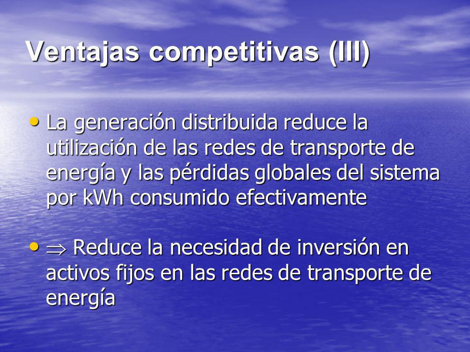 Ventajas competitivas (III)