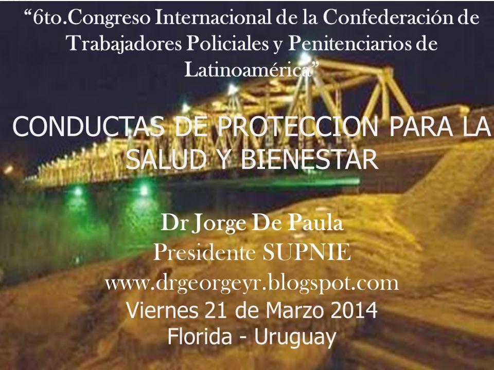 CONDUCTAS DE PROTECCION PARA LA SALUD Y BIENESTAR