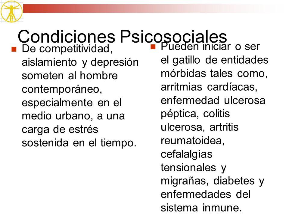 Condiciones Psicosociales