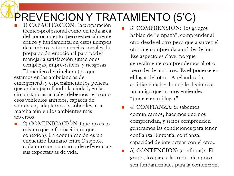 PREVENCION Y TRATAMIENTO (5'C)