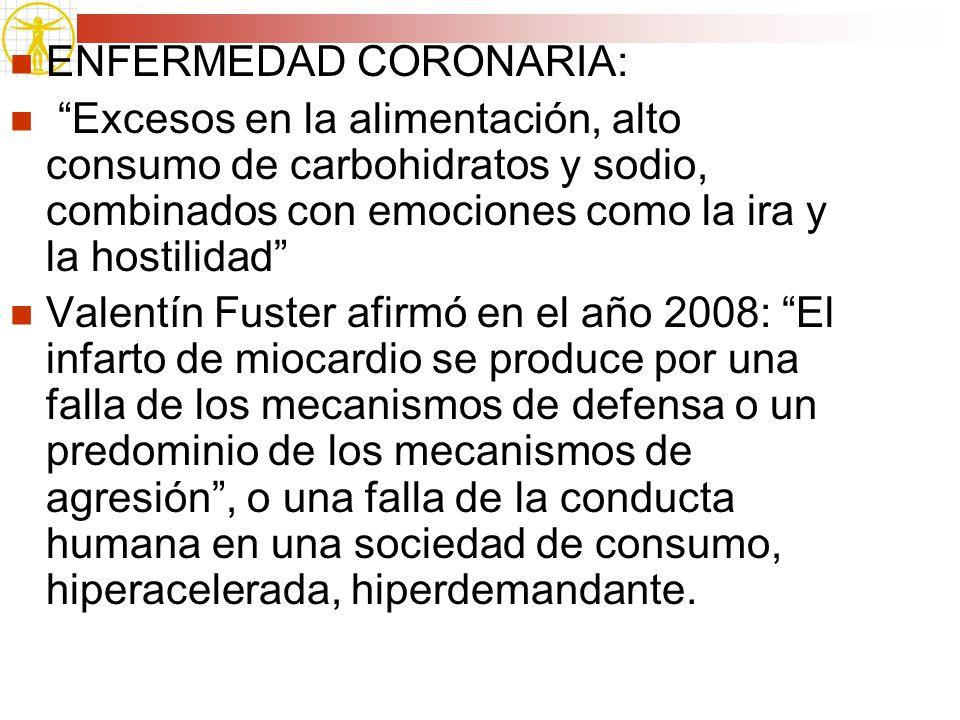 ENFERMEDAD CORONARIA: