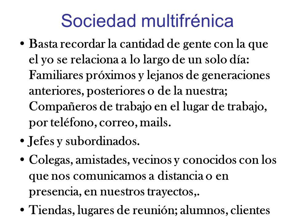 Sociedad multifrénica