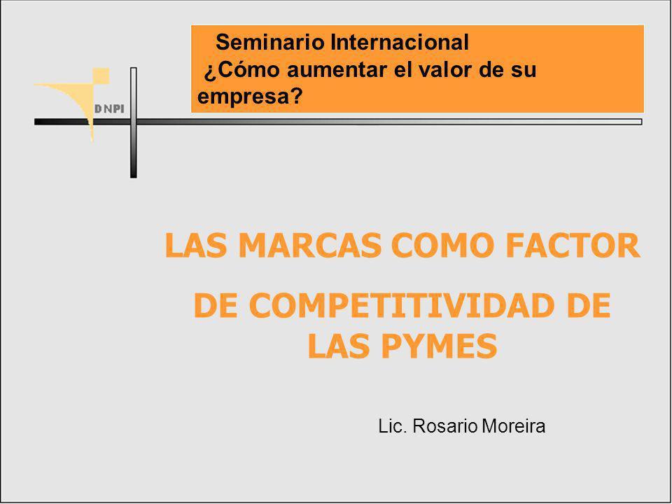 DE COMPETITIVIDAD DE LAS PYMES