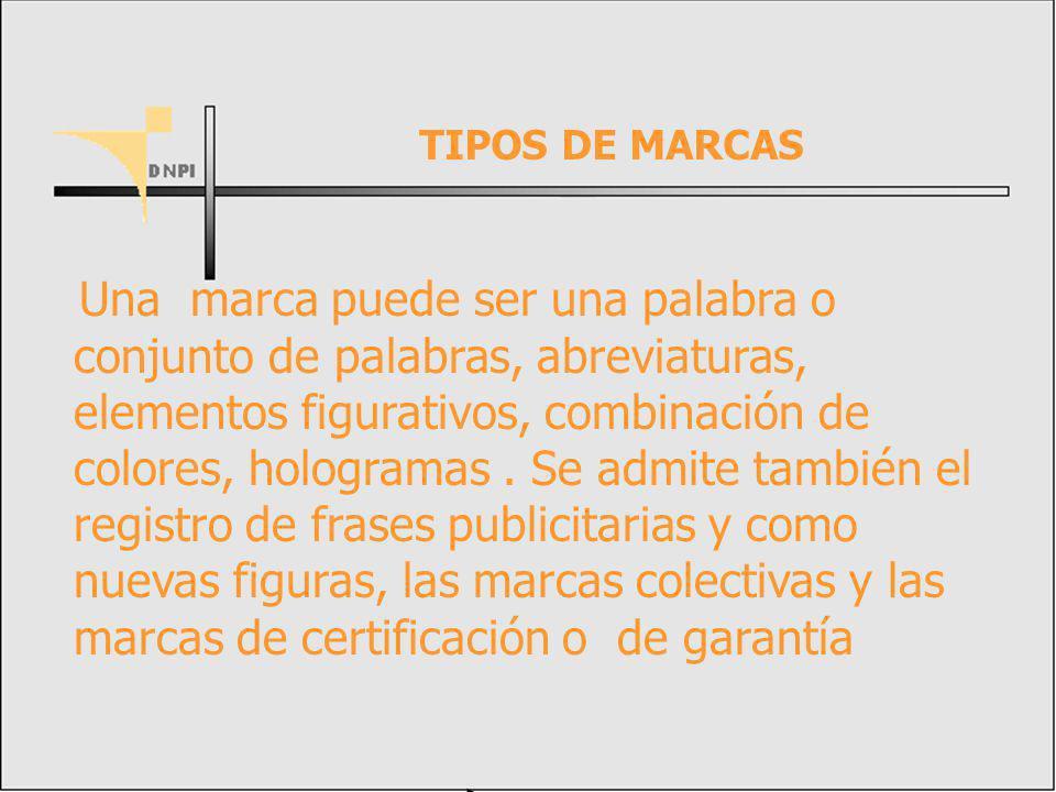 TIPOS DE MARCAS