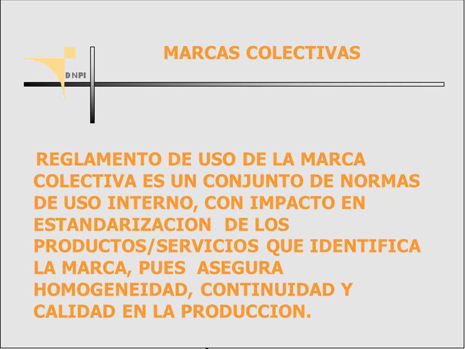 MARCAS COLECTIVAS