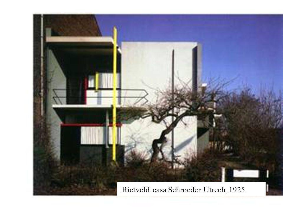 Rietveld. casa Schroeder. Utrech, 1925.