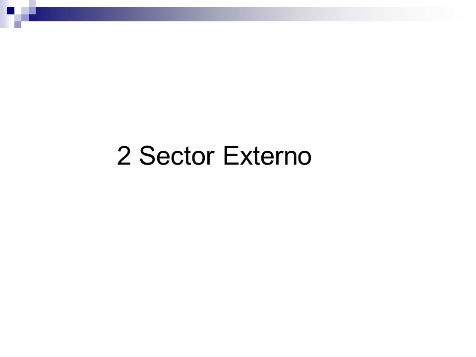 2 Sector Externo
