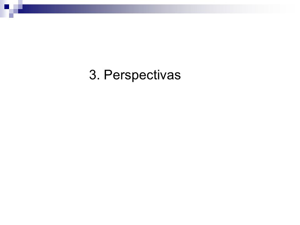 3. Perspectivas