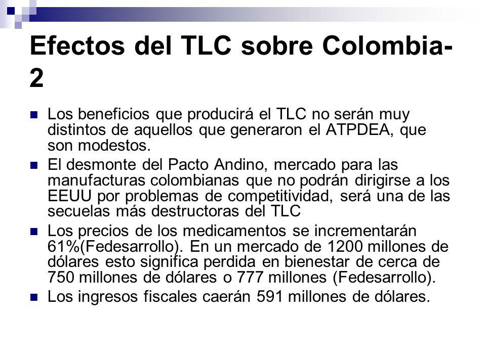 Efectos del TLC sobre Colombia-2