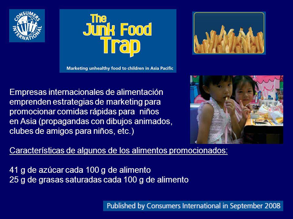 Empresas internacionales de alimentación