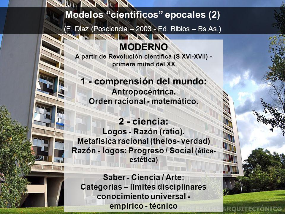 Modelos científicos epocales (2)