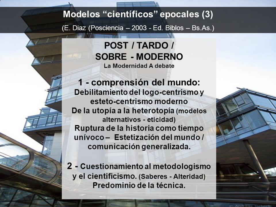 Modelos científicos epocales (3)