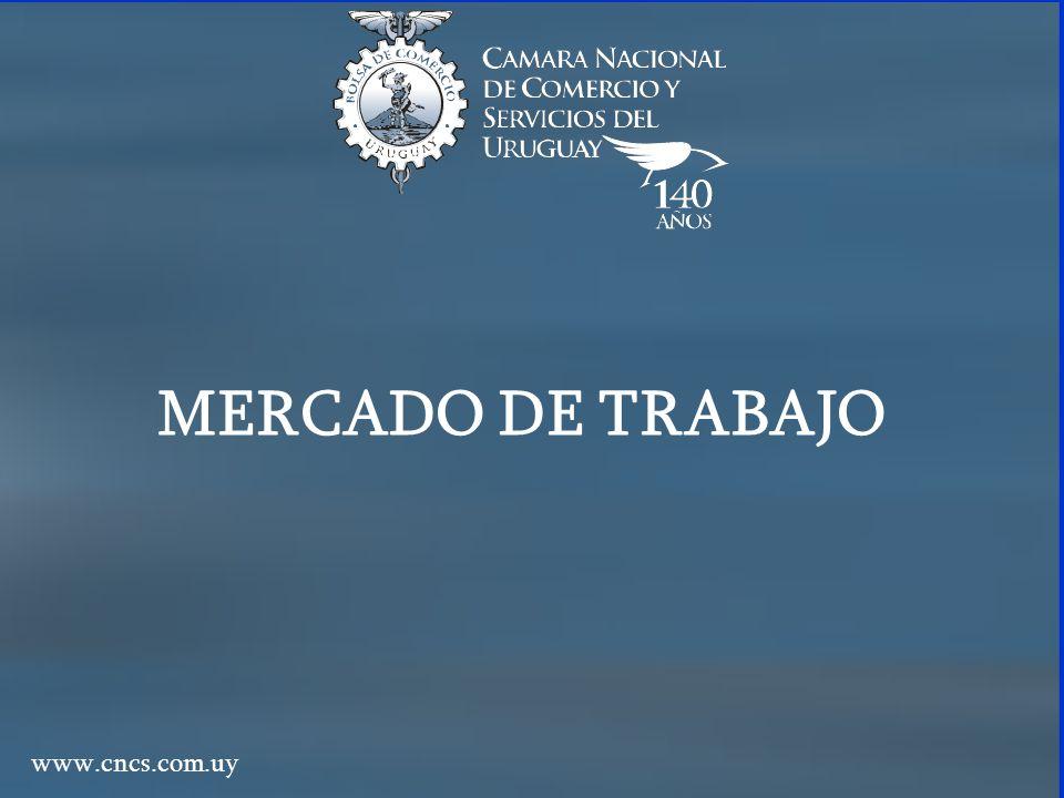 MERCADO DE TRABAJO www.cncs.com.uy
