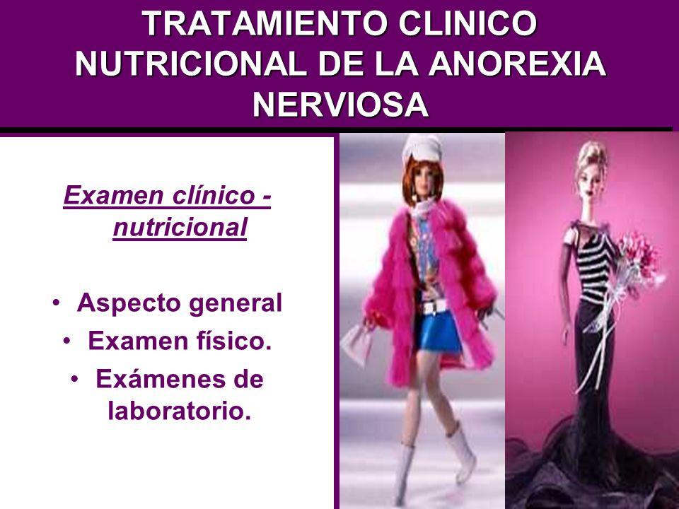 TRATAMIENTO CLINICO NUTRICIONAL DE LA ANOREXIA NERVIOSA