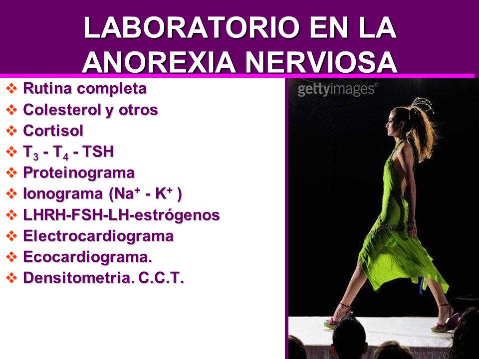 LABORATORIO EN LA ANOREXIA NERVIOSA