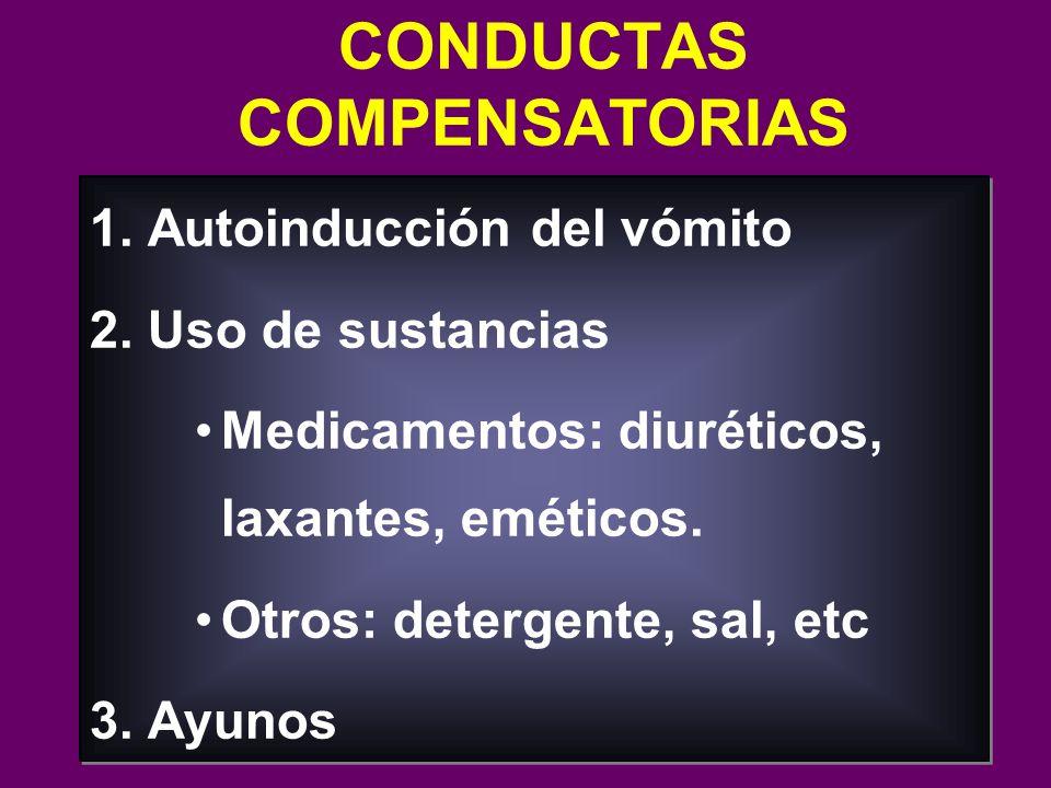 CONDUCTAS COMPENSATORIAS