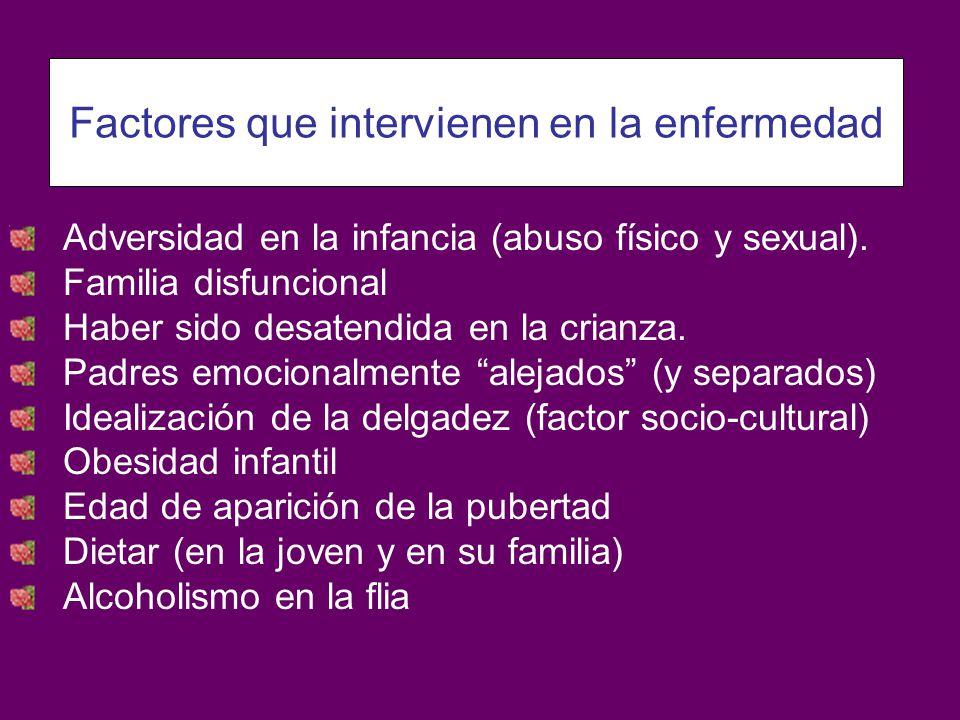 Factores que intervienen en la enfermedad