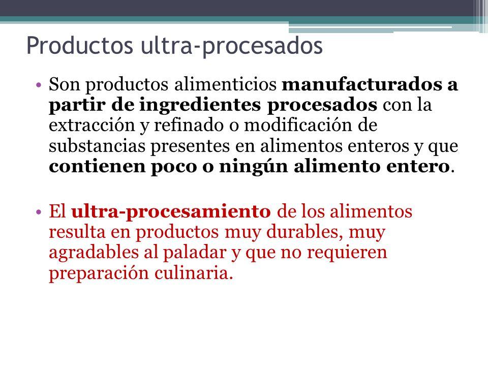 Productos ultra-procesados