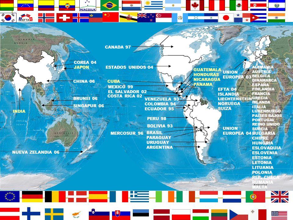 CANADA 97 COREA 04 JAPON ESTADOS UNIDOS 04 GUATEMALA HONDURAS