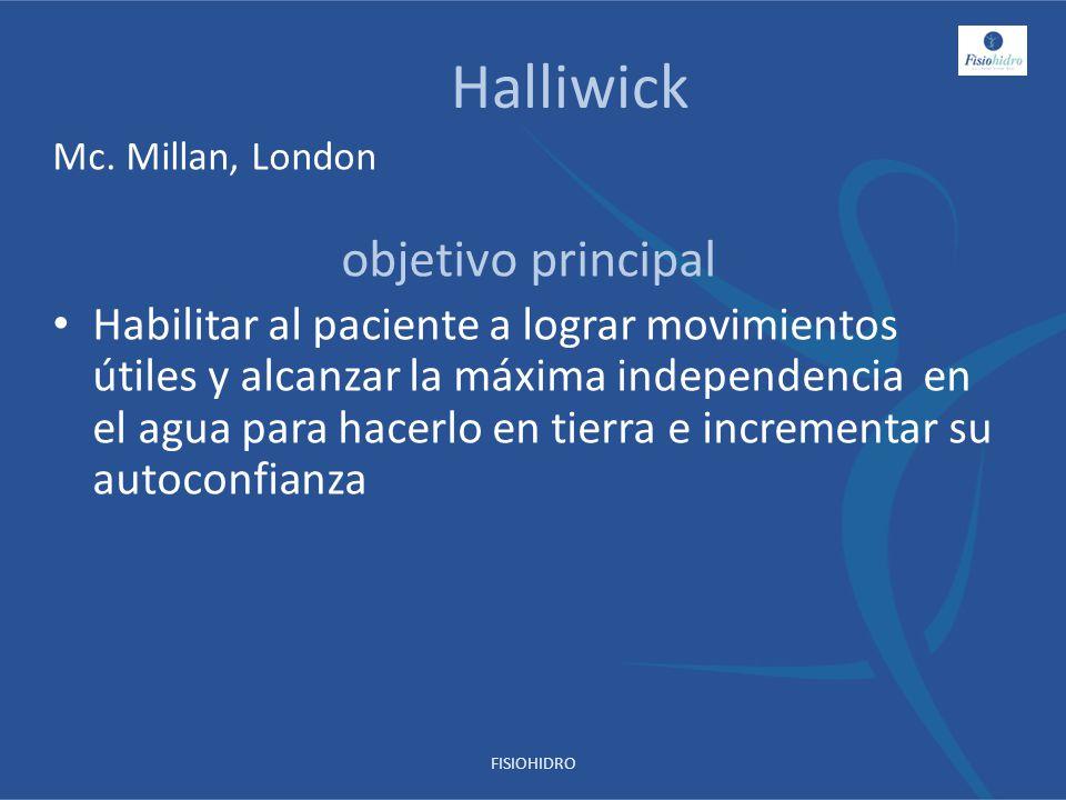 Halliwick objetivo principal
