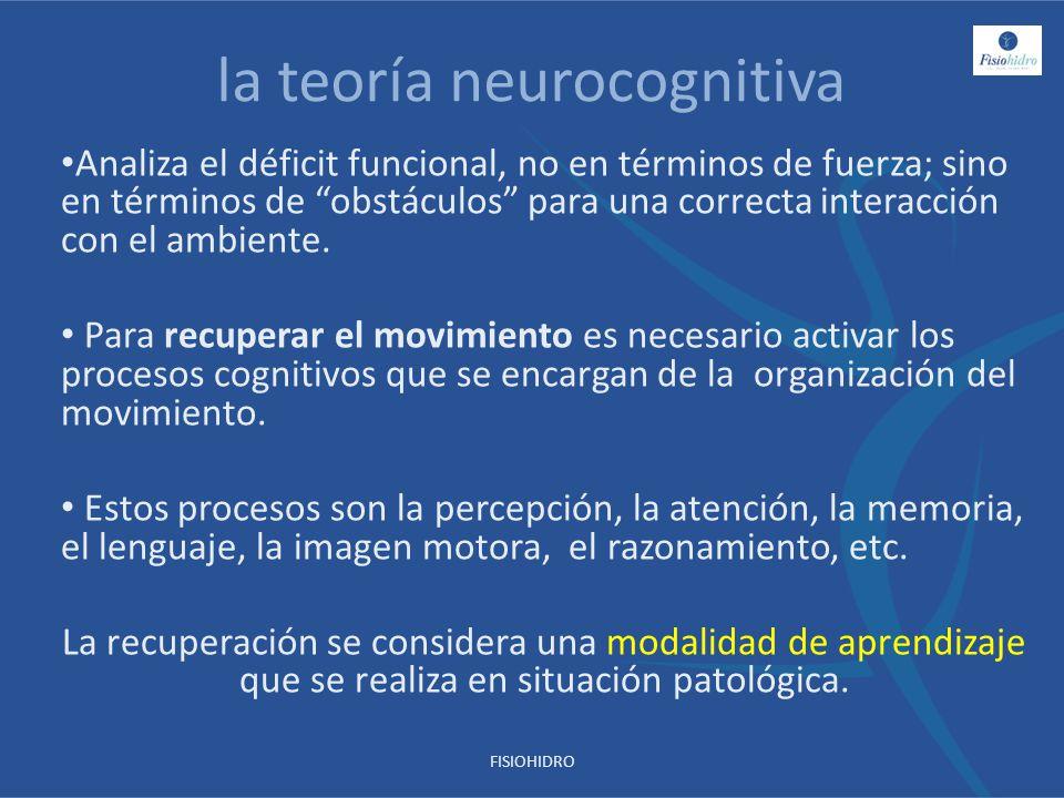 la teoría neurocognitiva