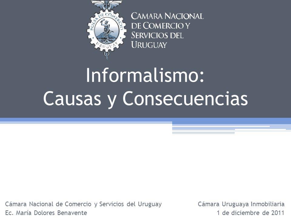 Informalismo: Causas y Consecuencias
