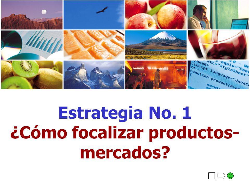 ¿Cómo focalizar productos-mercados