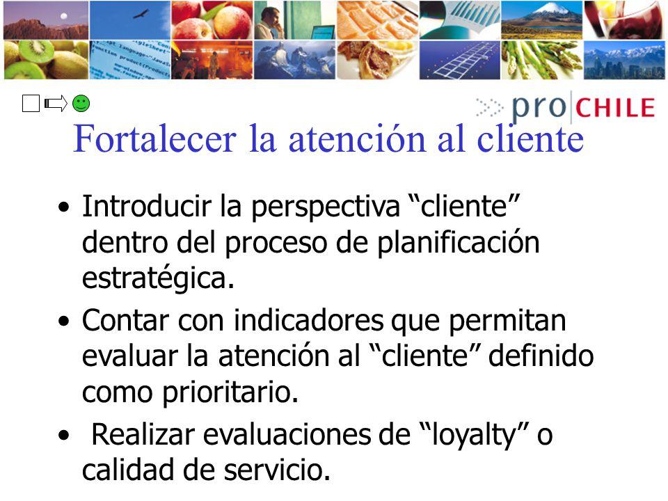 Fortalecer la atención al cliente