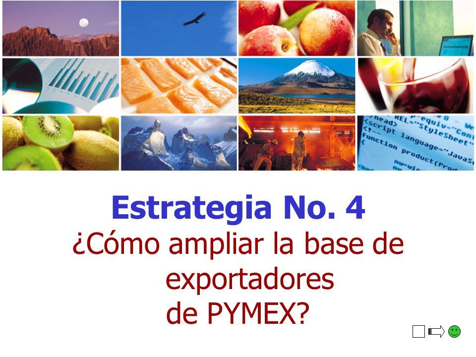 ¿Cómo ampliar la base de exportadores