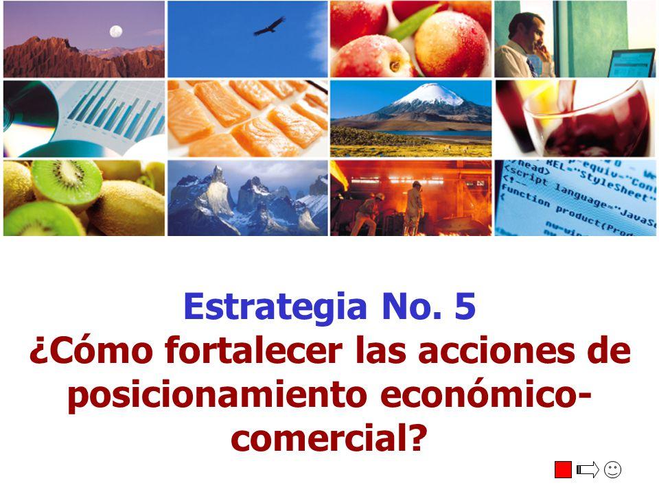 ¿Cómo fortalecer las acciones de posicionamiento económico-comercial