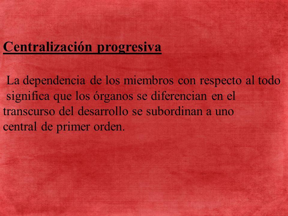 Centralización progresiva