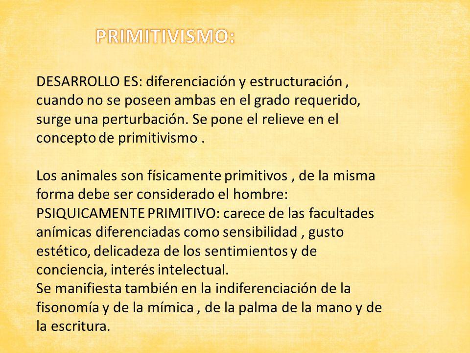 PRIMITIVISMO: