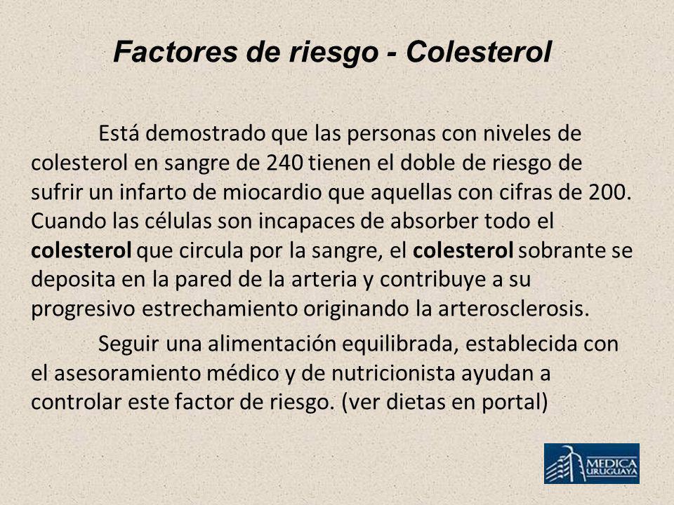 Factores de riesgo - Colesterol