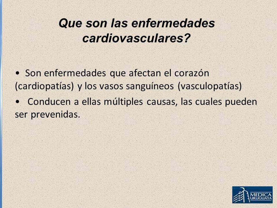 Que son las enfermedades cardiovasculares