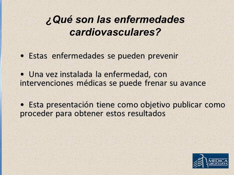 ¿Qué son las enfermedades cardiovasculares