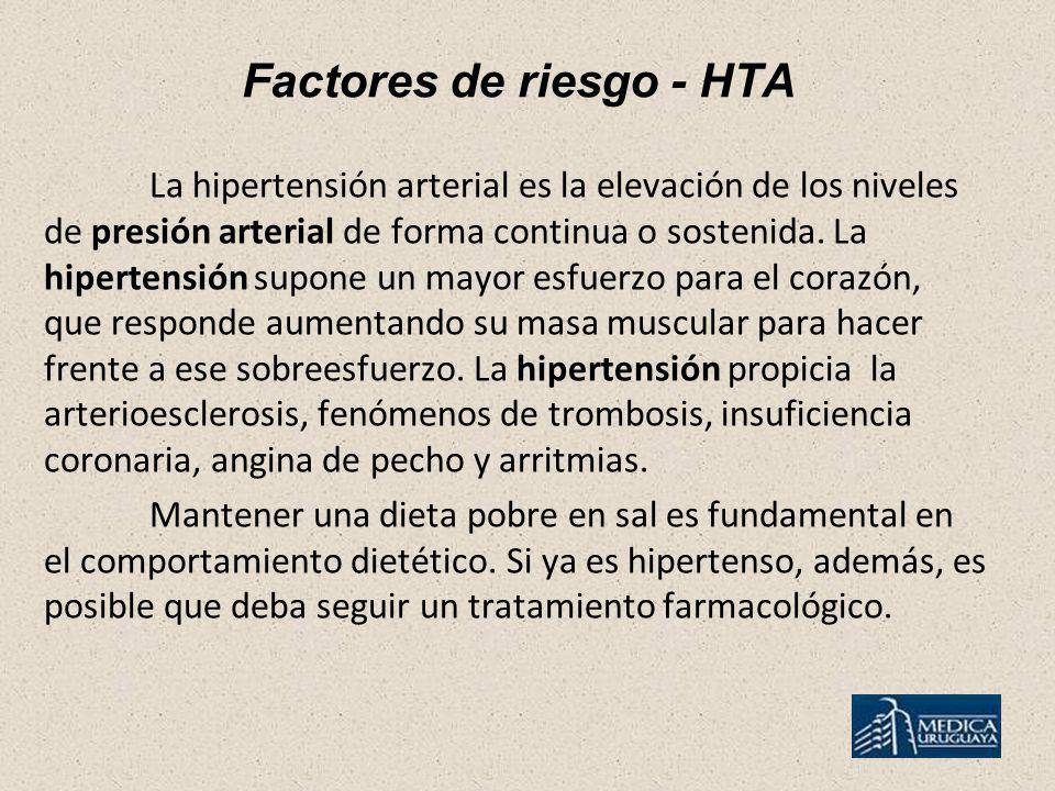 Factores de riesgo - HTA